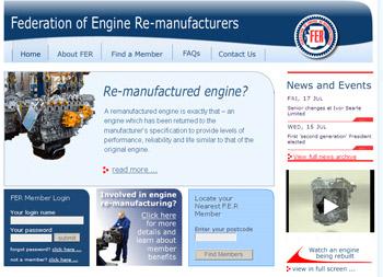 The new FER website