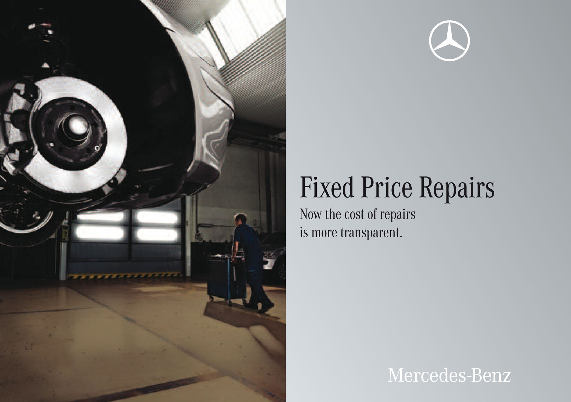 Mercedes launches fixed price parts and fitting service for Mercedes benz fixed price servicing costs