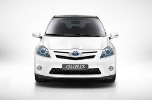 The Toyota Auris Full Hybrid Concept