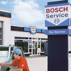 A Bosch Car Service centre