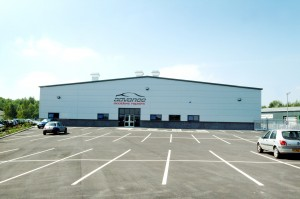 AAR's premises in Chesterfield