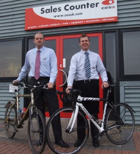 The pair raised over £7000 for Sport Relief
