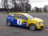 The Comline car features a fully race prepared shell