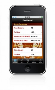 The app allows 24/7 shop management