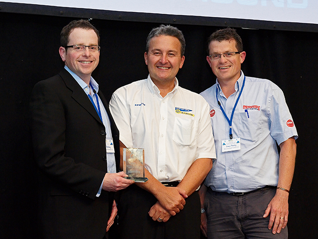 Motorcare was named GAU member of the year in 2010
