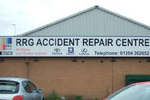 The RRG centre was one of the first Toyota repair centres