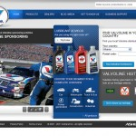 Valvoline's new homepage