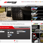 Avon's site has been completely redesigned