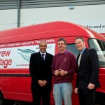 Andrew Page has teamed up with a local customer