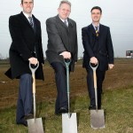 Andrew Page breaks ground in Derbyshire