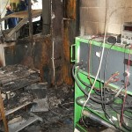 Damage caused by the fire was extensive