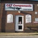The entrance to CAT Components