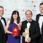 BM Catalysts receiving its award