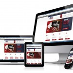 The site has been optimised for mobile devices