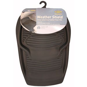"Ring's Weather Shield car mat copes with ""extreme dirt"""
