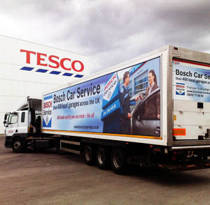 Bosch teams up with Tesco in consumer campaign