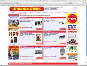 A1MS' revamped website