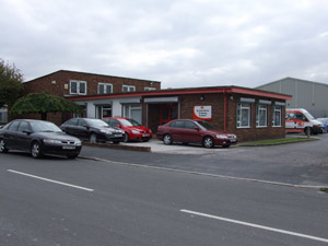CES UK's automotive training centre in Chester