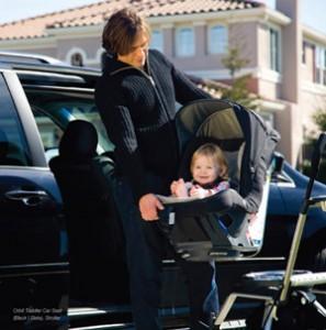 An Orbit toddler car seat