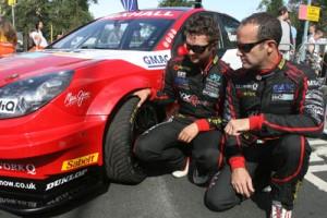 BTCC's Andrew Jordan and Fabrizio Giovanardi