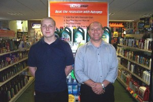 Autopep directors Paul Green and Steve Taylor