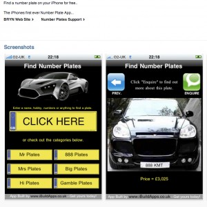 "iPhone users can view their chosen plate ""in situ"" before buying"