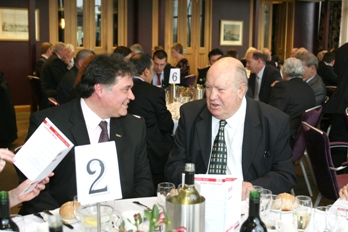 Chicane's Gary Barak and former launch editor John Stanton at the CAT Awards