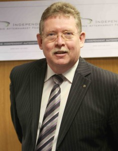 Mike Owen, head of the IAAF Garage Section