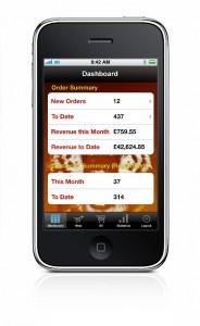 The app allows 24/7 shop management