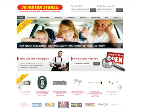 The new site has consumer appeal
