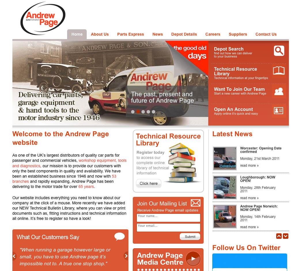AndrewPage web sm