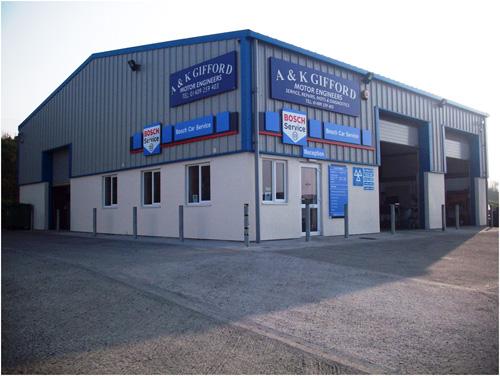 A&K Gifford splashes the Bosch brand on its Holsworthy premises