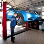 Saab technicians will be on hand for customers