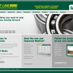 First Line's revised website includes the new Webcat catalogue