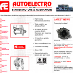 Autoelectro are already gearing up for winter