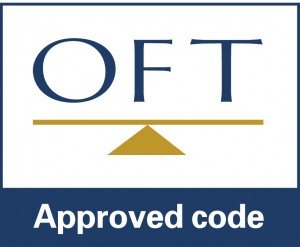 OFT approved code logo