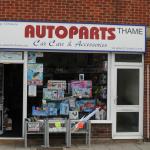 Thame Autoparts' front signage