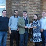 The award was presented at Haymarket's Teddington offices
