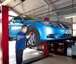 Saab-repair