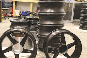 Dymag Wheels in production
