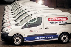 350 new vans for GSF in 2017