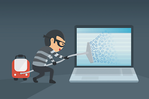 Theft of personal data is still common