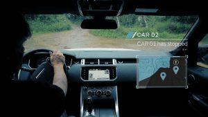 self driving Jaguar